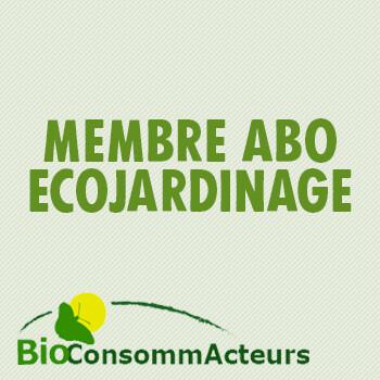 """Cotisation + abonnement """"Ecojardinage"""""""