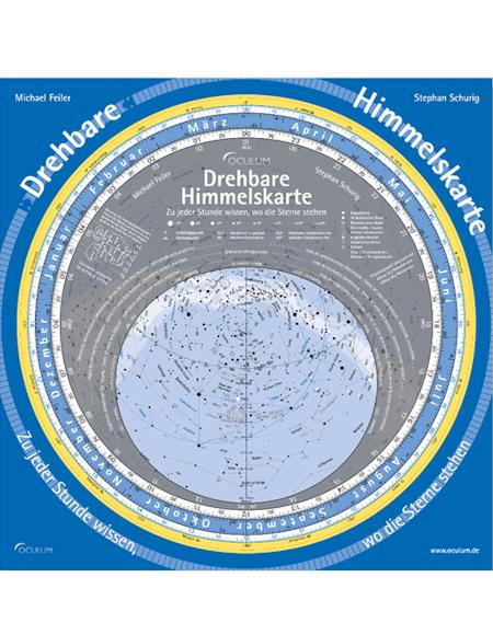 Drehbare Himmelskarte, Oculum Verlag Sternkarte 29 cm