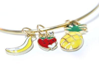 Fruit Charm Bracelet