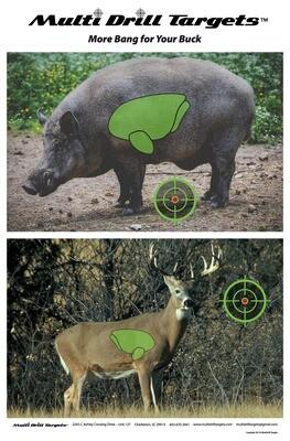 Buck - Boar Target - 10 pack