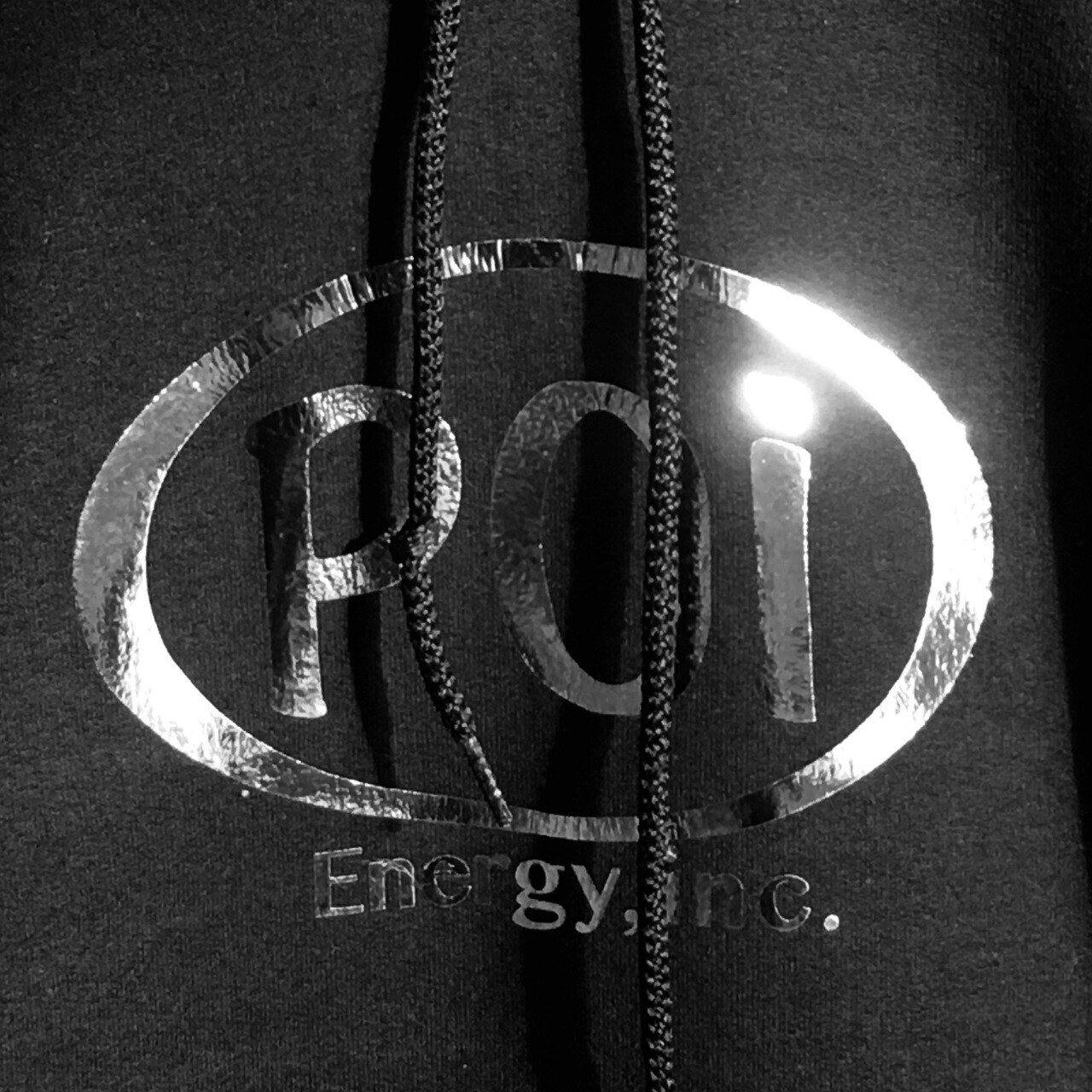 Hoodie Sweatshirt - Men's with Silver Poi Oval