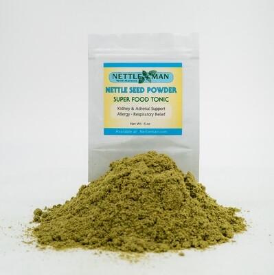 Nettle seed powder   .5 oz $13.50