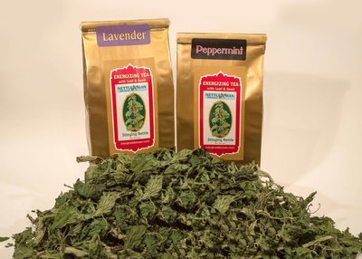 Energizing Leaf and Seed Tea (1 oz & 2 oz) - Original, Lavender, Peppermint