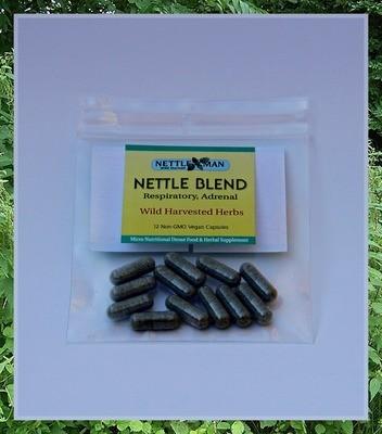 Nettle Blend Capsules (12, 60, & 90 count)