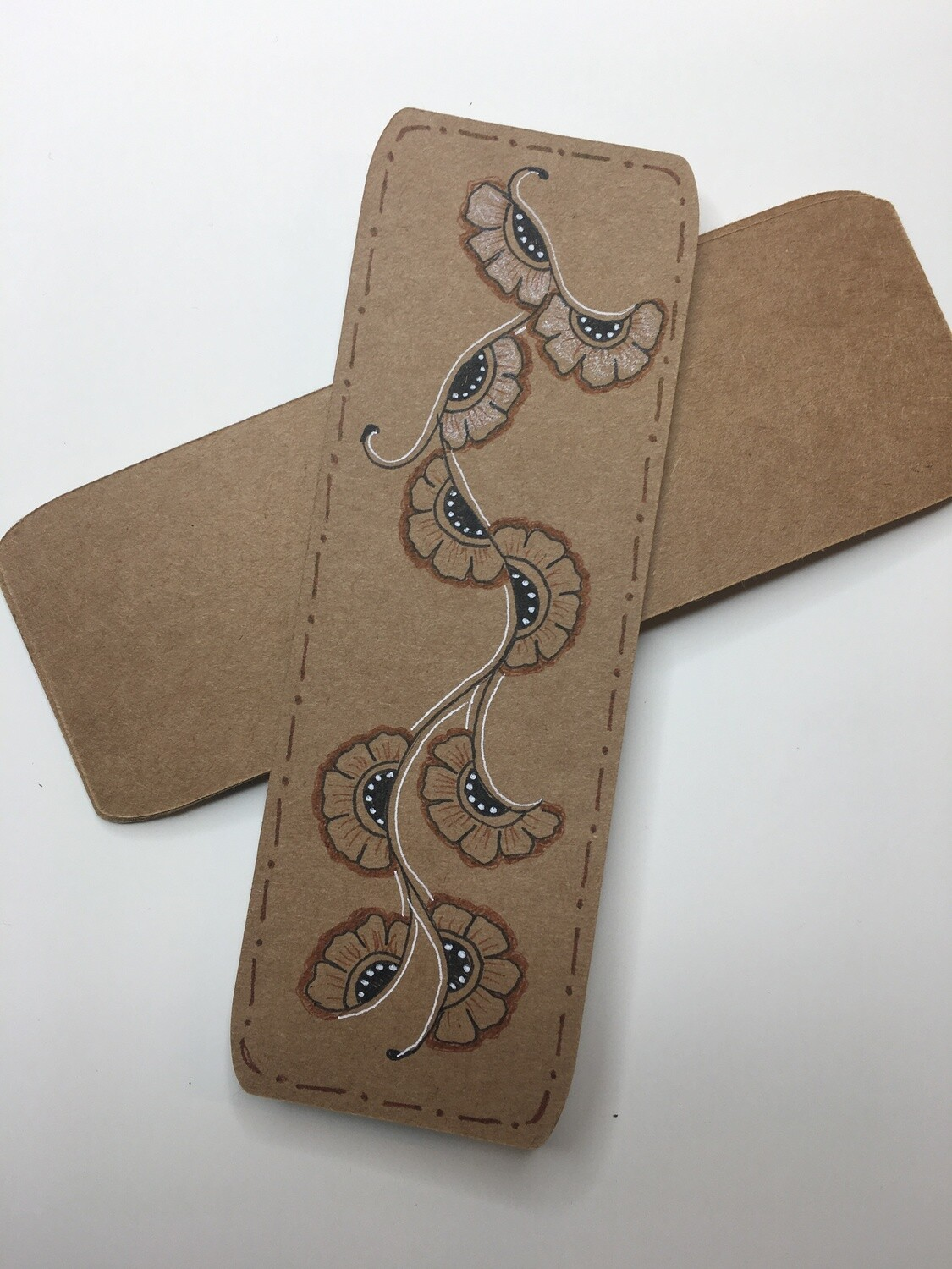 Brown Bookmarks 2x6""