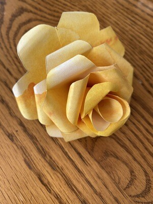 Paper Rose Templates  Live Youtube Class July 28, 2020