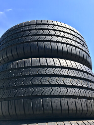 2 USED TIRES 245/40R19 Goodyear EAGLE LS-2 RUN ON FLAT WITH 9/32