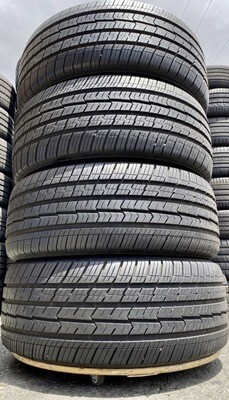 4 USED TIRES 255/55R18 Toyo OPEN COUTRY Q/T WITH 10/32