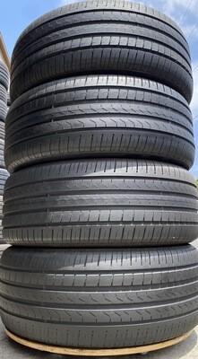 4 USED 255/45R20 Pirelli SCORPION VERDE ALL SEASON RUN FLAT WITH 6.5/32