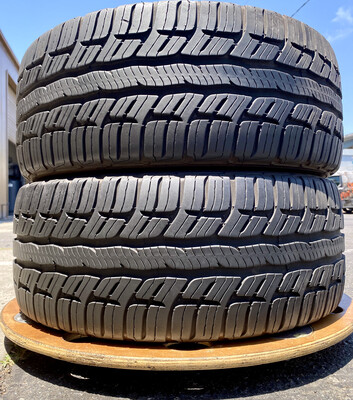 2 USED TIRES BFGoodrich 225/45ZR17 G-FORCE SPORT COMP-2 WITH 9/32