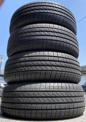 4 USED TIRES 205/55R17 Pirelli CINTURATO P7 RFT WITH 90%TREAD