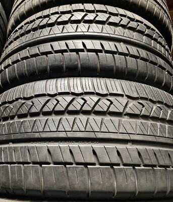 2 USED TIRES 225/45R17 Cooper ZEON RS3-A WITH 90-95% TREAD