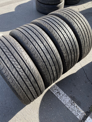 4 USED TIRES 235/50R18 Continental CONTI PRO CONTACT TX SSR WITH 8/32