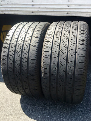 2 USED 265/35R18 Continental CONTI PRO CONTACT WITH 5/32