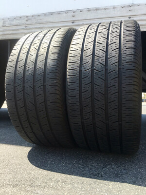 2 USED 265/35R18 Continental CONTI PRO CONTACT WITH 6/32