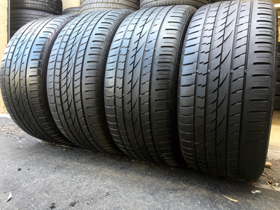 4 USED TIRES 295/40/21 Continental CROSS CONTACT UHP WITH 5/32