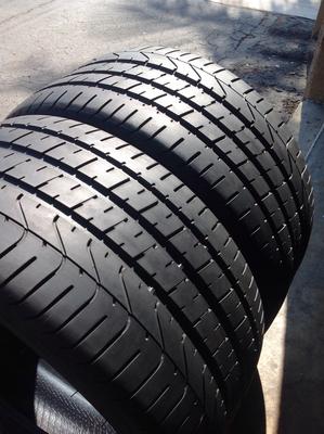 2 USED TIRES 285/30R19 Pirelli P ZERO WITH 7/32