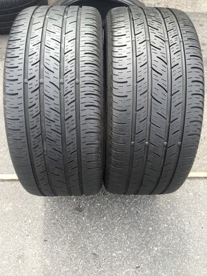 2 USED 245/40R18 Continental CONTI PRO CONTACT WITH 6/32