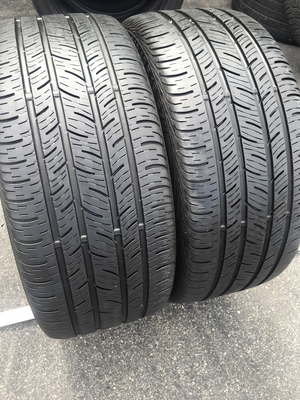 2 USED 245/40R18 Continental CONTI PRO CONTACT WITH 7/32