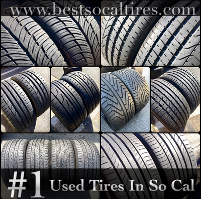 2 USED TIRES 275/55R20 Goodyear EAGLE LS-2 WITH 6/32