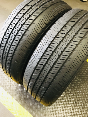 2 USED TIRES 215/55r17 Michelin PRIMACY MXV4 WITH 6/32