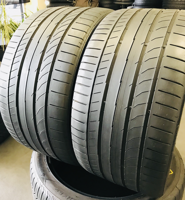 2 USED TIRES 285/30R19 Continental CONTI SPORT CONTACT 5P WITH 6/32