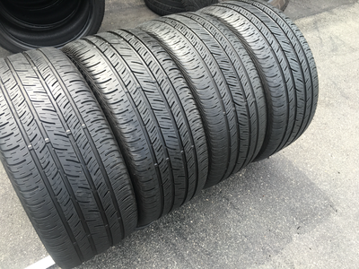 4 USED TIRES 245/40R18 Continental CONTI PRO CONTACT WITH 7/32