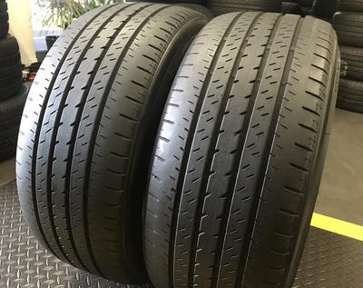 2 USED TIRES 225/40R18 Bridgestone TURANZA ER33 WITH 7/32