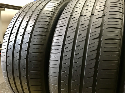 2 USED TIRES 225/45R18 Michelin PRIMACY MXM4 WITH 5/32