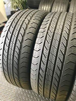 2 USED 225/45R18 Continental PRO CONTACT GX SSR 6/32