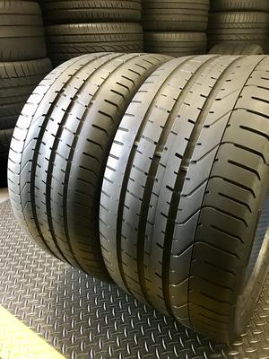 2 USED TIRES 285/30R19 Pirelli P ZERO WITH 5/32