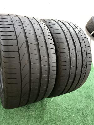 2 USED TIRES 305/30ZR20 Pirelli P ZERO WITH 7/32
