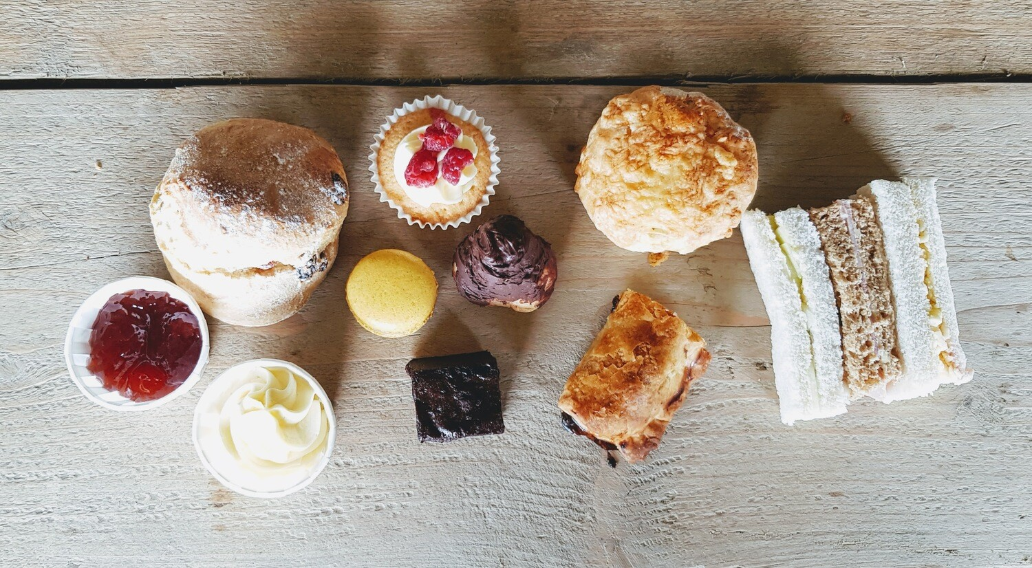 Afternoon Tea For One Picnic Box   Collection Only