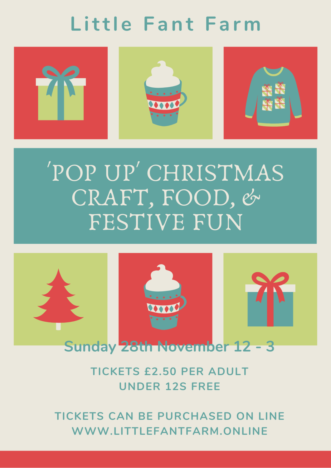 Pop Up Christmas Food & Craft Festival - Entry Ticket
