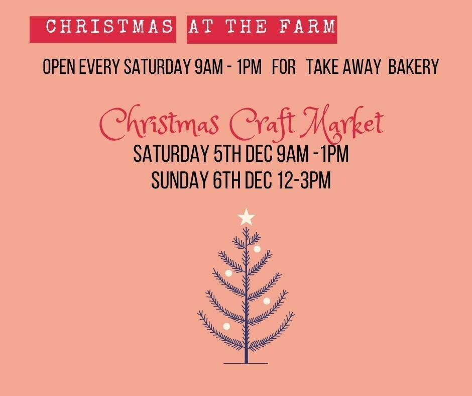 Christmas Craft Market - Saturday 5th December