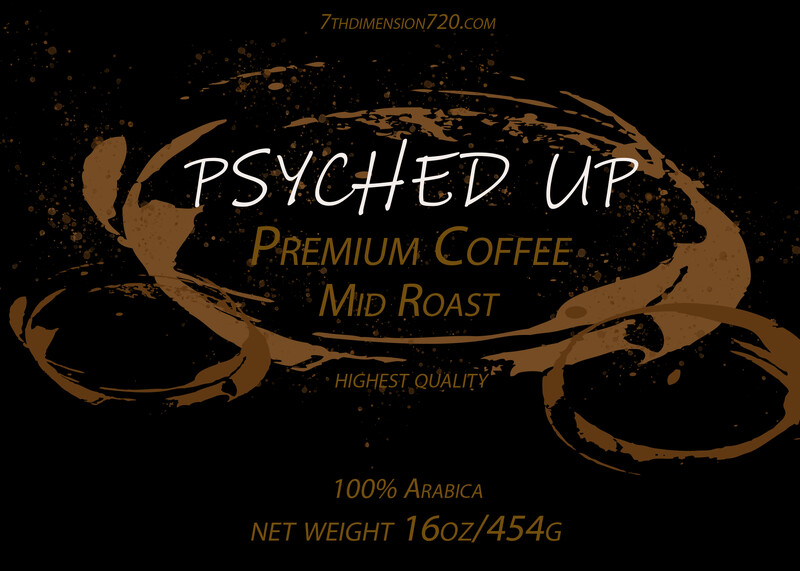 PSYCHED UP COFFEE -FREE SAMPLE