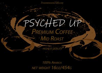 PSYCHED UP COFFEE or kratom -FREE SAMPLE