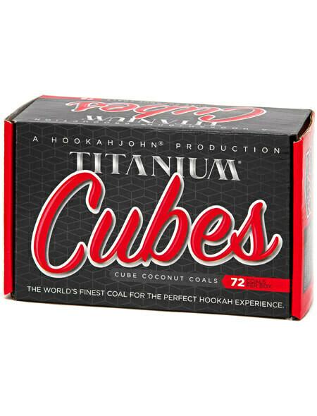 Titanium Coconut coals