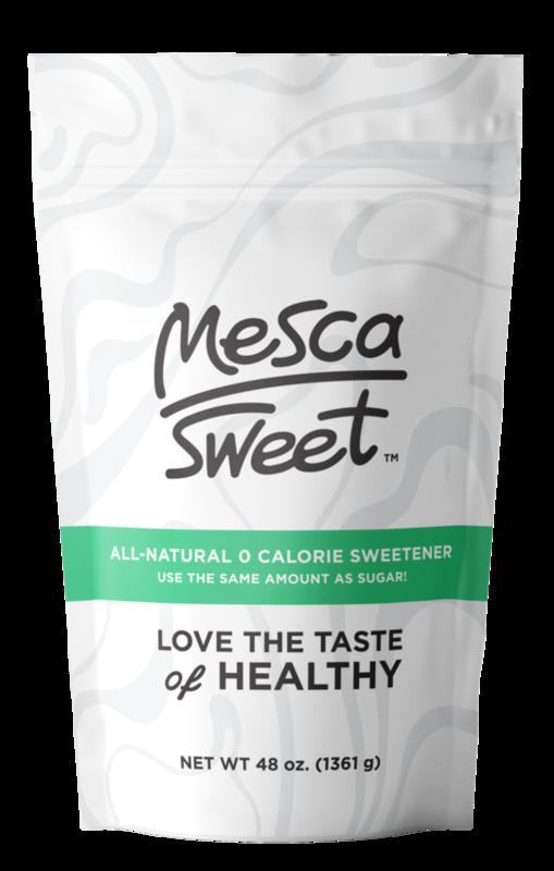 MESCA sweetener 3lb bag