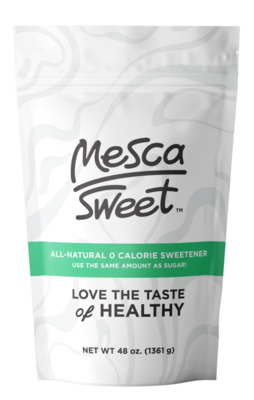 MESCA sweetener 3lb bag