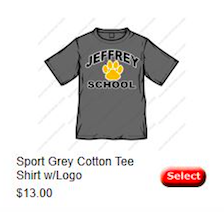 Sport Grey Cotton Tee