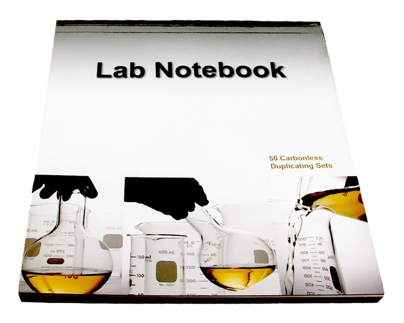 Lab Notebook 50 Pages Top Permanent Bound (Copy Page Perforated)