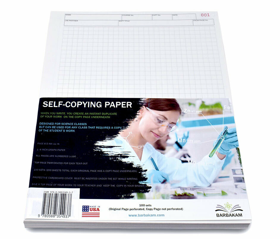 Loose Self-Copying Paper-100 sets (200 pages)