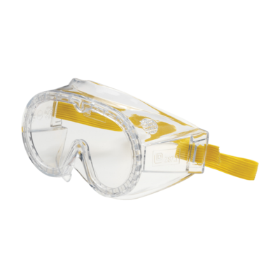Children Direct Vent Goggle with Clear Body and Clear Lens Meets ANSI Z87.1