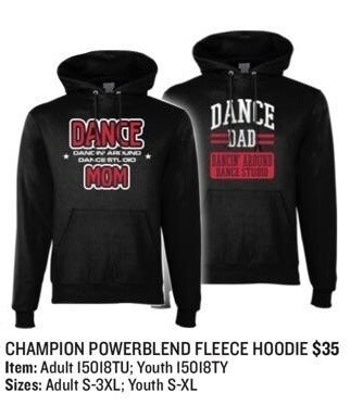 Dance MOM / Dance DAD Hoodies