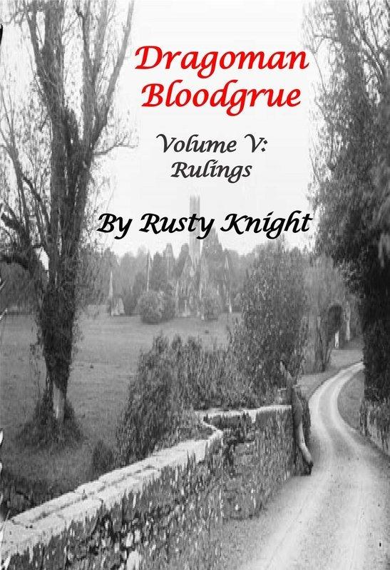 Dragoman Bloodgrue Volume V, Rulings, Paperback