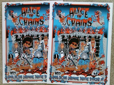 Alice In Chains Limited Run Poster