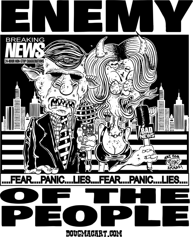 Enemy Of The People TShirt