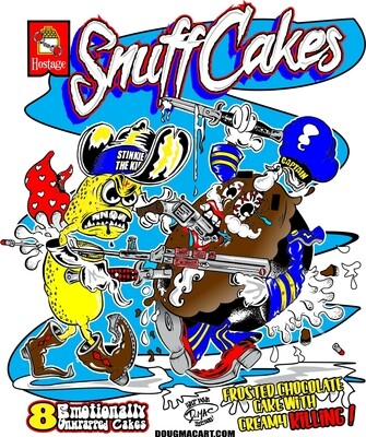 Snuff Cakes Sticker