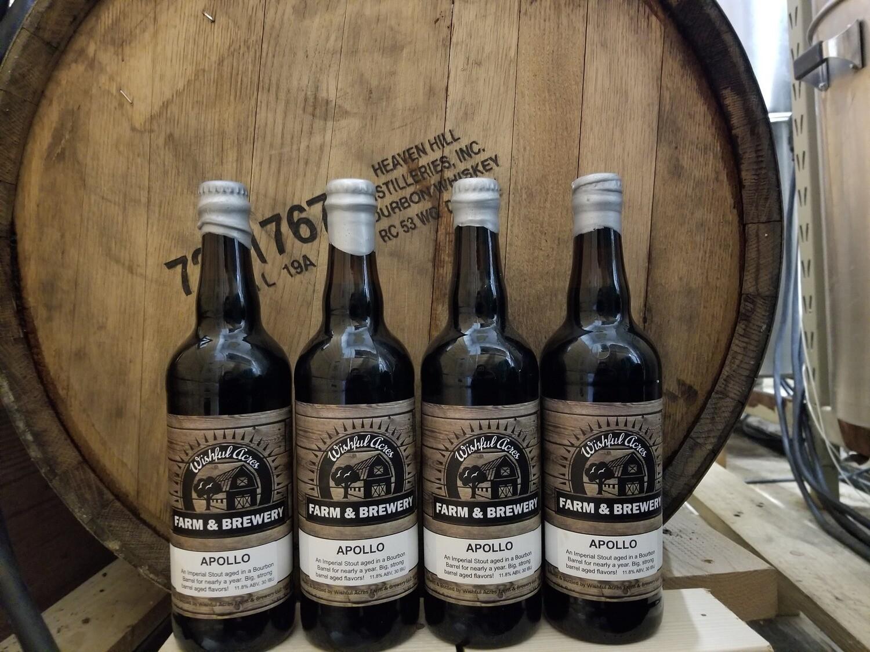 Pre-Order Apollo Bottles (Bourbon Barrel Aged Stout)